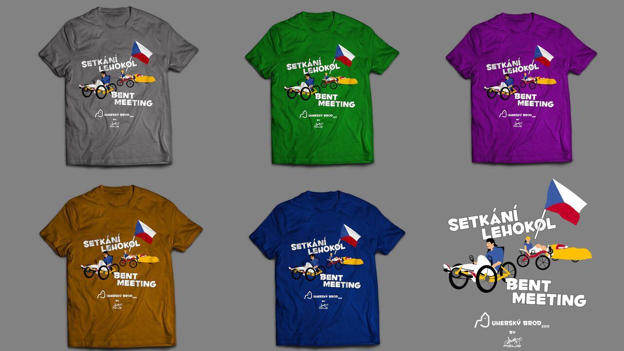 Srazová trička – která barva se vám nejvíce líbí?