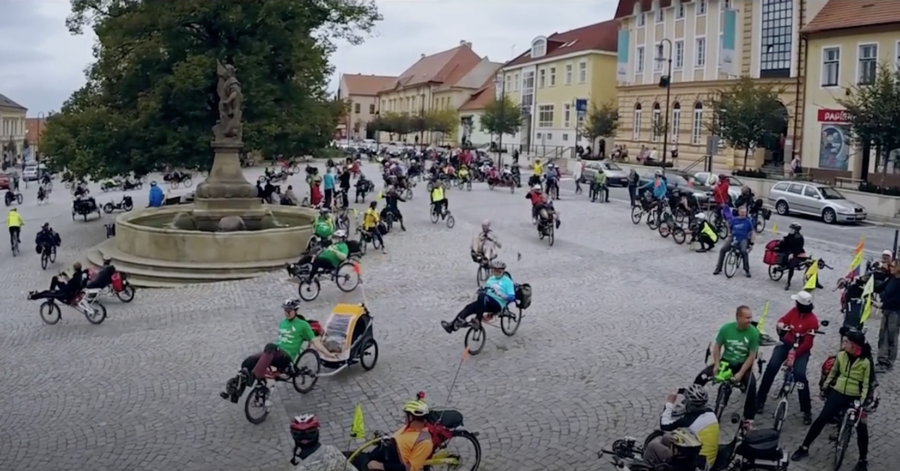 Video memory of the 2010 and 2015 recumbent meeting in Uherský Brod